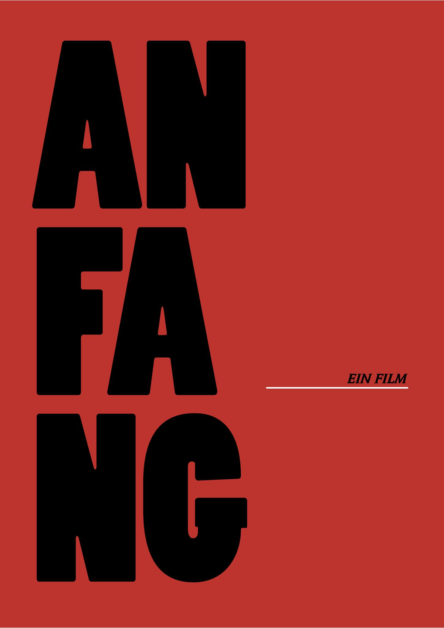 Filmposter: Anfang