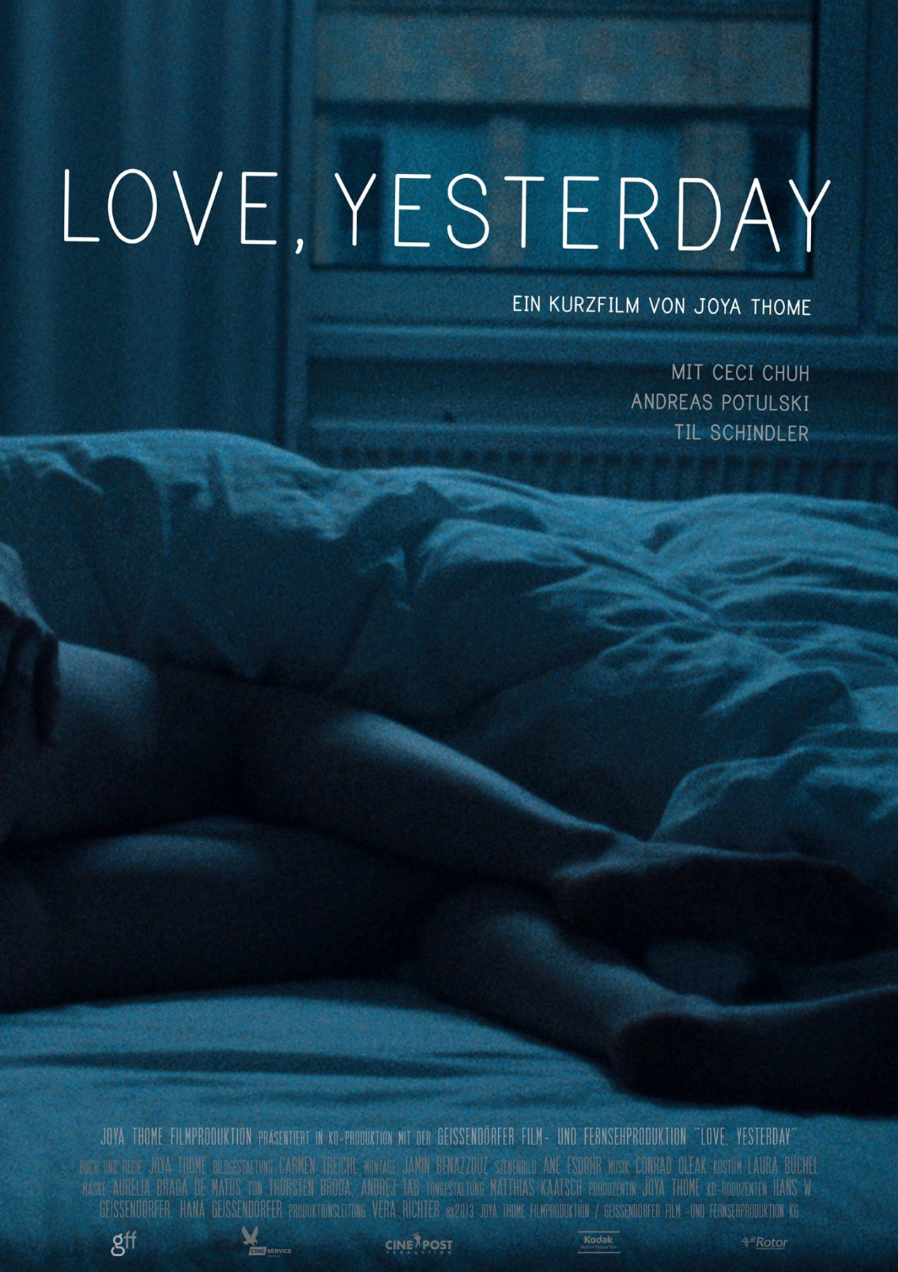 Filmposter: Love. Yesterday